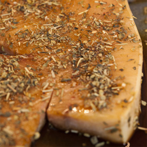 Swordfish Steaks Spiced and Marinated to Grill
