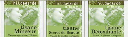Tisanes Bio en sachets Hildegarde