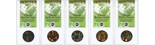 Tisanes Bio en vrac Hildegarde